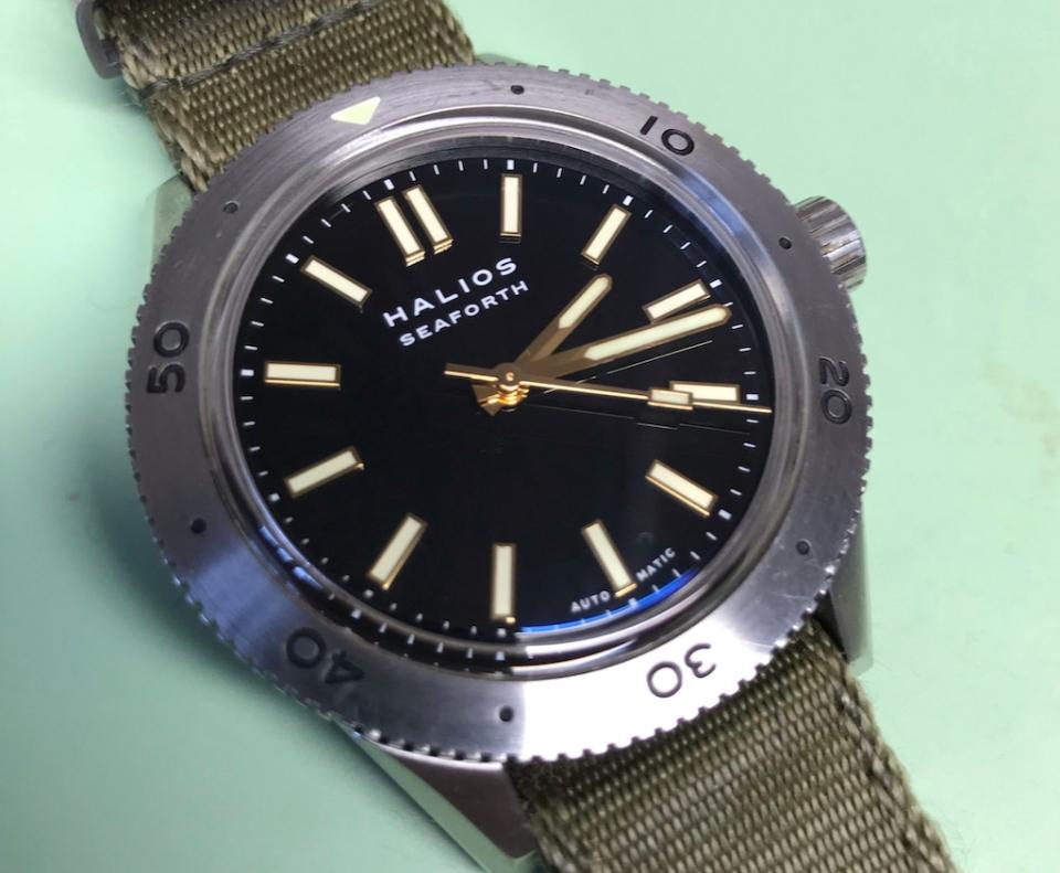Watch repair Vancouver Halios Seaforth