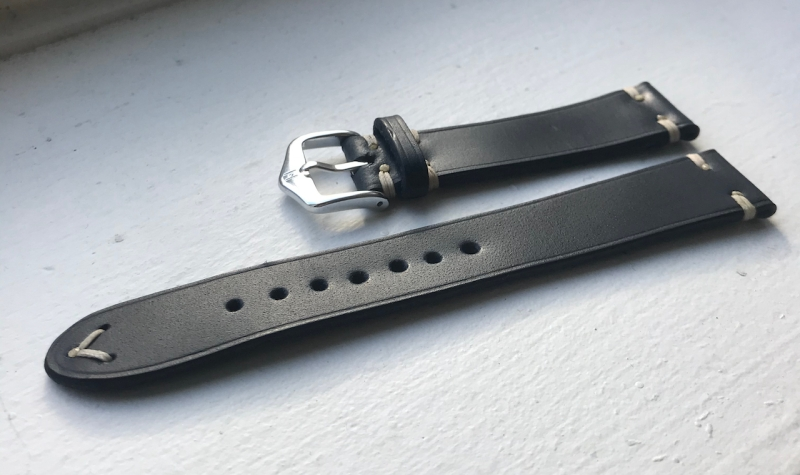 handmade leather strap the classic
