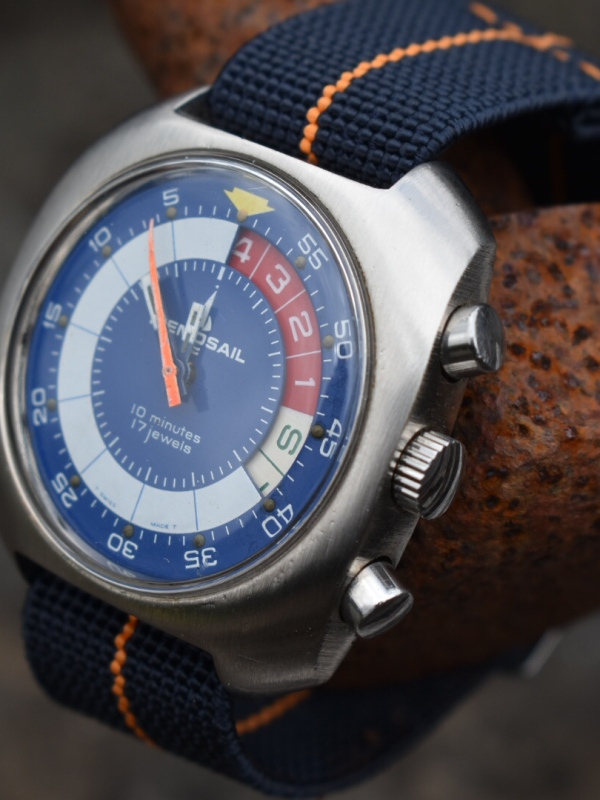 memosail watch regatta timer rusty pipe