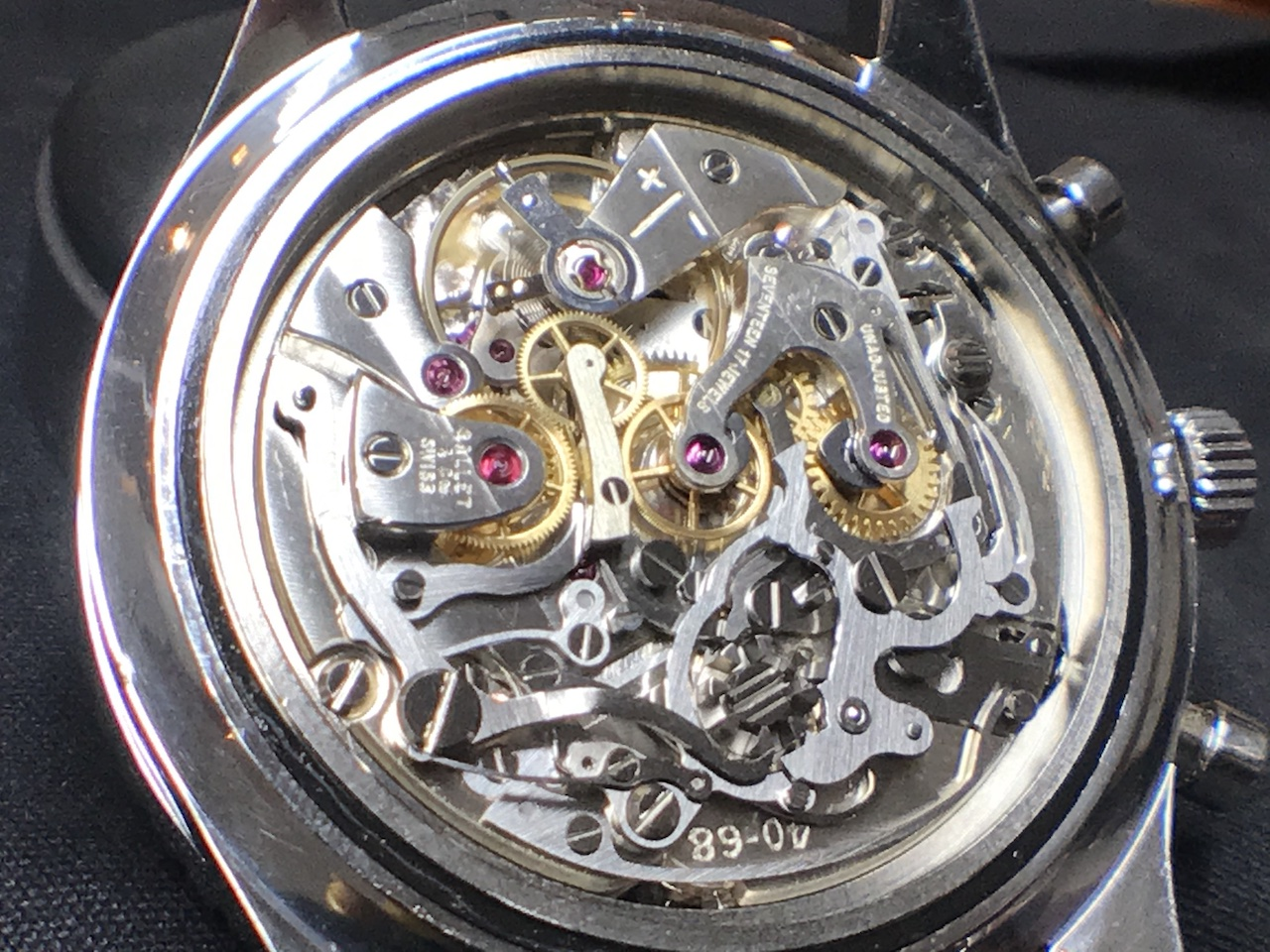 watch repair vancouver Gallet EP40-68 movement after service