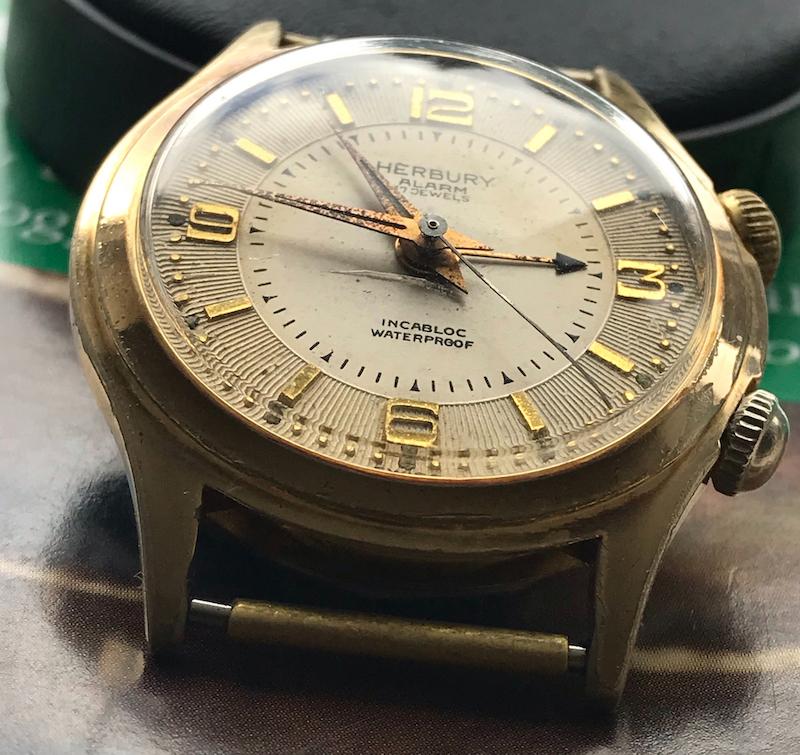 watch repair vancouver vintage herbury alarm watch