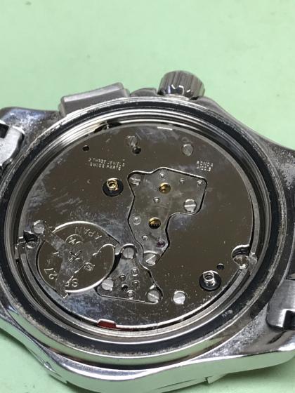 Watch repair Vancouver Tag Heuer aquaracer movement