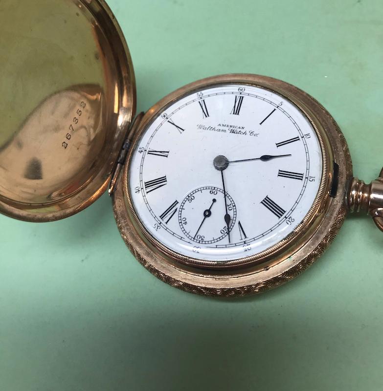 watch repair vancouver waltham pocket watch
