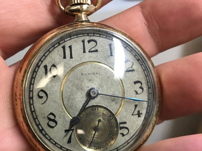Watch repair vancouver Admiral pocket watch