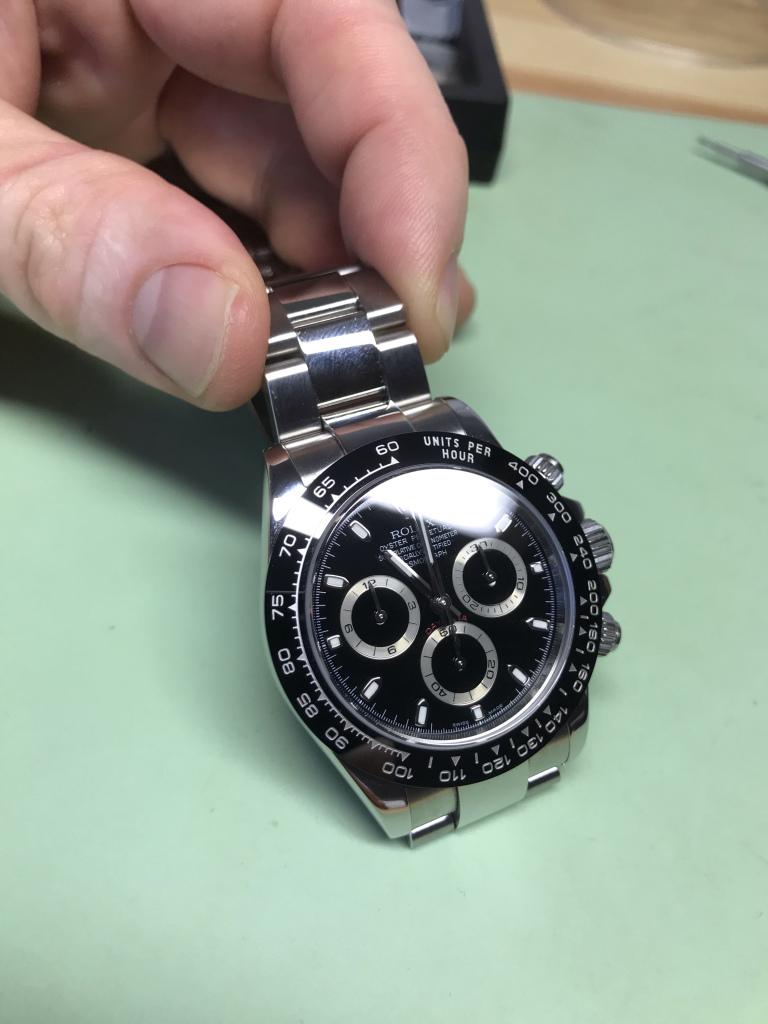 Vancouver watch repair Rolex Daytona new bezel