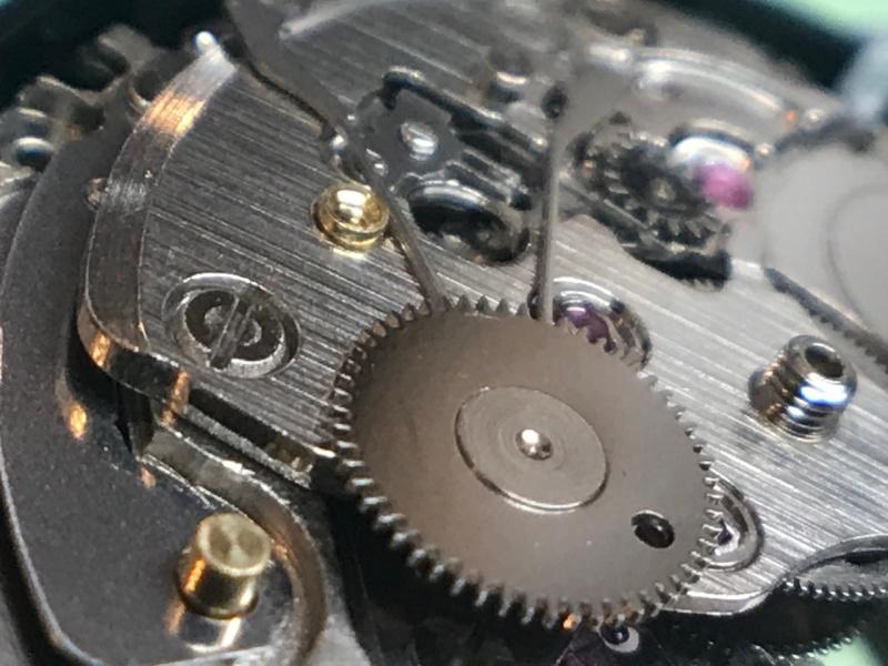 Seiko 4R36A automatic driving wheel