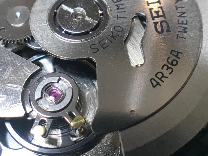 Seiko 4R36A balance and rotor