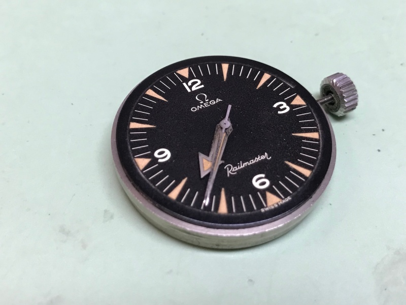 Omega CK1914-1 uncased Watch repair vancouver