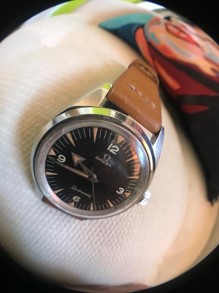 Omega railmaster CK-2914-1 vancouver watch repair