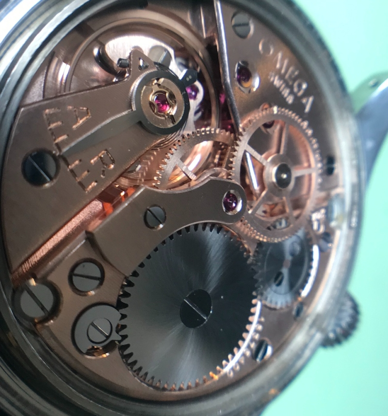 omega railmaster movement 284 watch repair vancouver